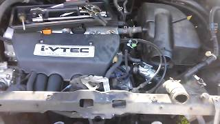 2002-2004 Honda CR-V Radiator Replacement Part 2: Air-Box & Upper-hose Removal, planning ahead etcg1