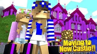 LITTLE CARLY'S NEW HOME!! w/Little Kelly (Minecraft Roleplay).