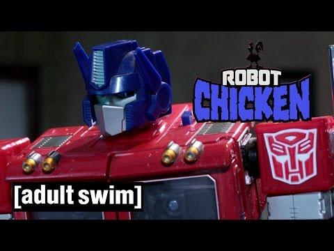 Transformers Compilation Robot Chicken Adult Swim