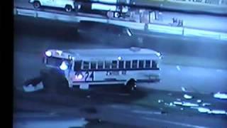 Figure 8 Bus Crash @ Eve of Destruction 2003 Rolls Completely over