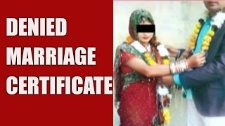 Marriage Of Hindu Boy & Muslim Girl Denied Certificate