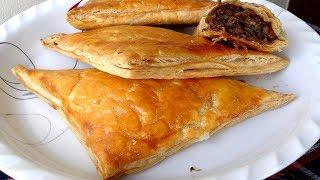 বিফ প্যাটিস তৈরির রেসিপি - Bangladeshi Beef Patties Recipe - Beef Patties Rannar Bangla Video Recipe