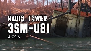 Radio Tower 3SM-U81 - Nautical Radio Signal, Breakheart Banks, & the Greenbriar Bunker
