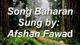 Baharan Baharan. by. Afshan fawad