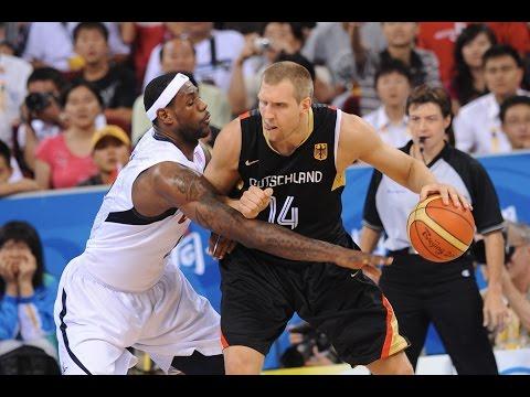 watch Germany vs USA 2008 Beijing Olympics Basketball Group Round FULL GAME English