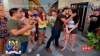 Bubble Gang: Kim Domingo hinalikan ni Aljur Abrenica