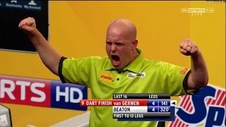 Nine Darter Compilation (All televised nine-dart finishes)