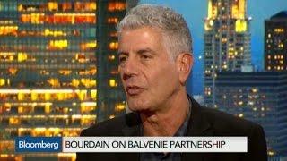 Anthony Bourdain Talks Global Travels, CNN, Nemtsov