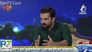 Hamza Ali Abbasi continues discussion of Ahmadiyya rights in his Ramzan Show
