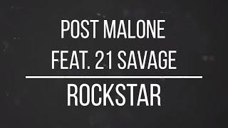 Dylan Matthew  Rockstar Ft Post Malone  21 Savage Lyrics