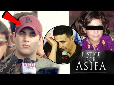 Xxx Mp4 Asifa Kathua Case पर Akshay Kumar के बेटे Aarav का SAD REACTION 3gp Sex