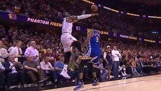 LeBron James KICKS Andre Iguodala in the Nuts
