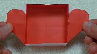 Бумажное сердце-коробочка
