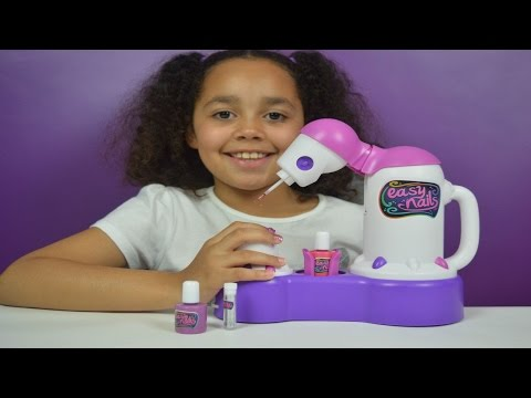 Easy Nails Nail Spa Tutorial Kids Toy Review