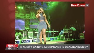 Is nudity gaining acceptance in Ugandan music?