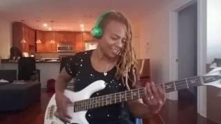 'Glide' by Pleasure feat Divinity Roxx on Bass Guitar