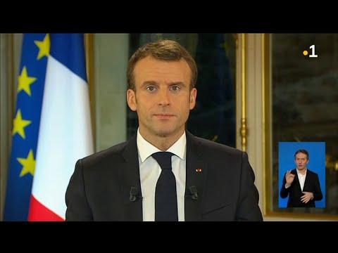 Xxx Mp4 L 39 Allocution Du Président De La République Emmanuel Macron Du 10 Décembre 2018 3gp Sex
