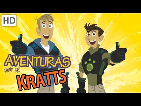 Aventuras com os Kratts HD Português Compilation Episódios Completos 2 Horas