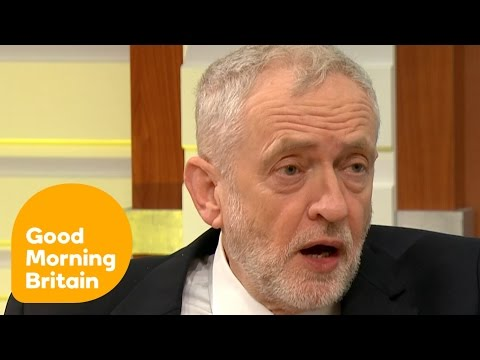 Jeremy Corbyn and Piers Morgan s Heated Debate Over Brexit Policies Good Morning Britain