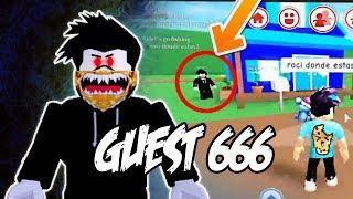 GUEST 666 Aparece en mi Partida [LE PERSIGO Y ESTO SUCEDE...] || ROBLOX