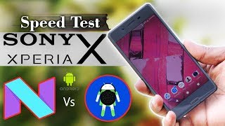 Sony Xperia X Oreo 8.0 Update Official | Speed Test Android Oreo vs Nougat