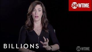 Billions | Maggie Siff on Wendy Rhoades | Season 1