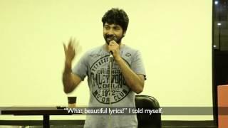 How I Wrote Kaalam Kettu Poyi (Premam) - Shabareesh Varma   The Storytellers