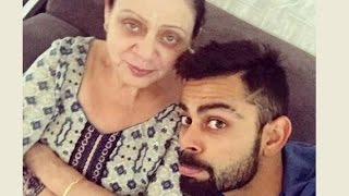 Cricketers with their moms