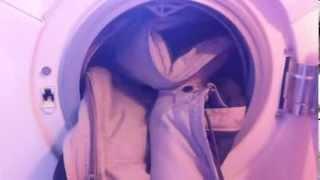 Hvordan vasker man dunjakke
