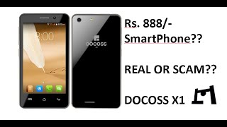 Docoss X1 Smartphone For Rs. 888/- | Real Or Scam?