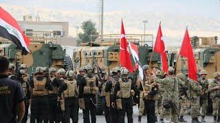 Irak ordusu ve Türk ordusu الجيش العراقي والجيش التركي