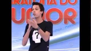 O Quinto Elemento: Nil Agra (Time Preto) - Maratona do Humor - Tudo É Possível 06/11/11