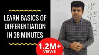 Differentiation / Derivative class 11th/XI  CBSE Introduction Part 02 (HINDI | हिंदी)