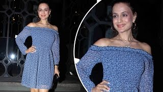 Actress Ameesha Patel SPOTTED Partying In Mumbai