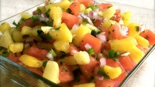 Pineapple Salsa ~ Healthy Recipe
