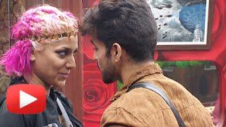 Hot Kiss Between Gautam Gulati And Diandra |  Bigg Boss 8