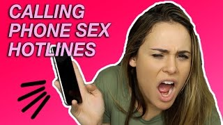 CALLING PHONE SEX HOTLINES | Tags & Challenges | AYYDUBS