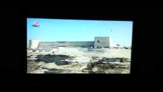 من قديم تلفزيون البحرين - الأمير الراحل الشيخ عيسى بن سلمان يفتتح قلعة الرفاع 1993