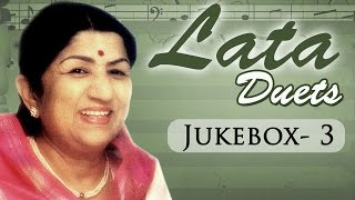 Non Stop Lata Mangeshkar Duets (HD)  - Jukebox -3 - Top 10 Lata Old Hindi Songs