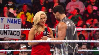 The Great Khali vs. Fandango: Raw, March 18, 2013