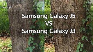 Galaxy J3 Camera vs Galaxy J5 Camera | Video & Photo test