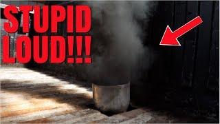NEW MINI SMOKE STACK ON THE CUMMINS!!!!