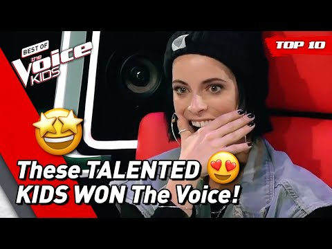 TOP 10 | BEST WINNERS of The Voice Kids Video Clip