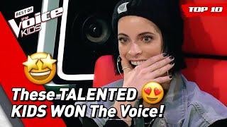 TOP 10 | BEST WINNERS of The Voice Kids