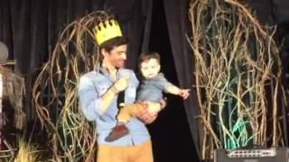 Matt And Macklin on stage at BurCon 2016