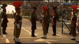 Videospremium.net - Espectaculo diario de cierre de frontera de India y Pakistan