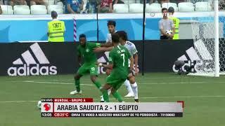 Mundial, Grupo A: Arabia Saudita 2 – 1 Egipto