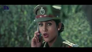 Police Commissioner Loves With Sizzling Lady  - Bhagavanthudu Movie Scenes -  Vijay, Kausha Rach