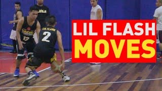 Lil FLash Streetball Moves - BallaholicsxHype
