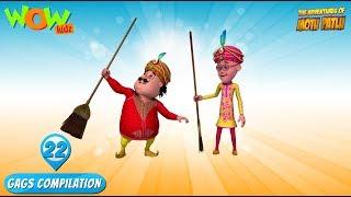 Motu Patlu - Funny Gags #22 - 1 hour episodes!